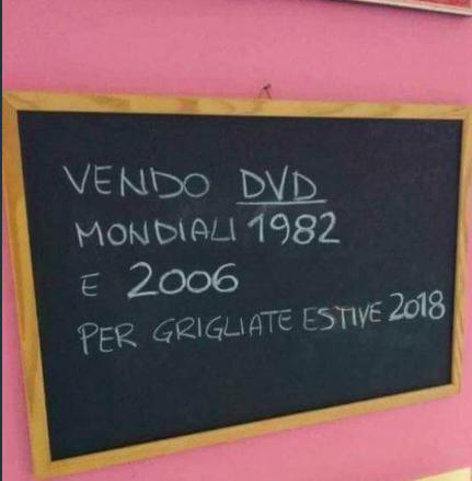Mondiali 2018. Italia
