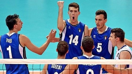 match pallavolo Italia ai Giochi del Mediterraneo