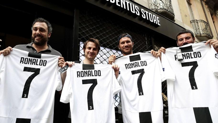 Tifosini juventini per Ronaldo
