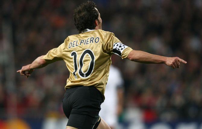 Alessandro Del Piero in campo