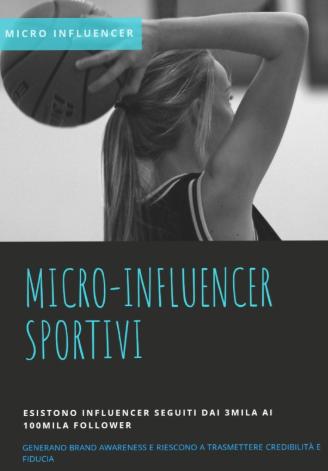 micro influencer sportivi cosa sono
